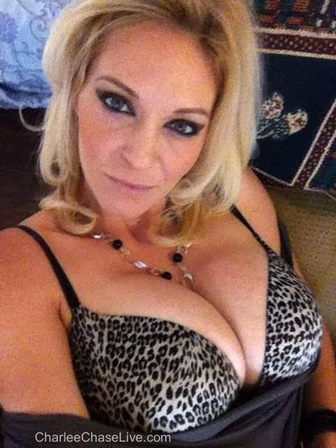 Charlee chase pleases her horny pussy 6