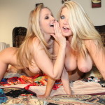 Vicky Vette and Julia Ann