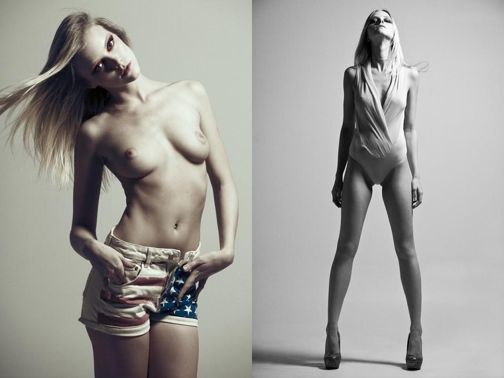 elle evans nude