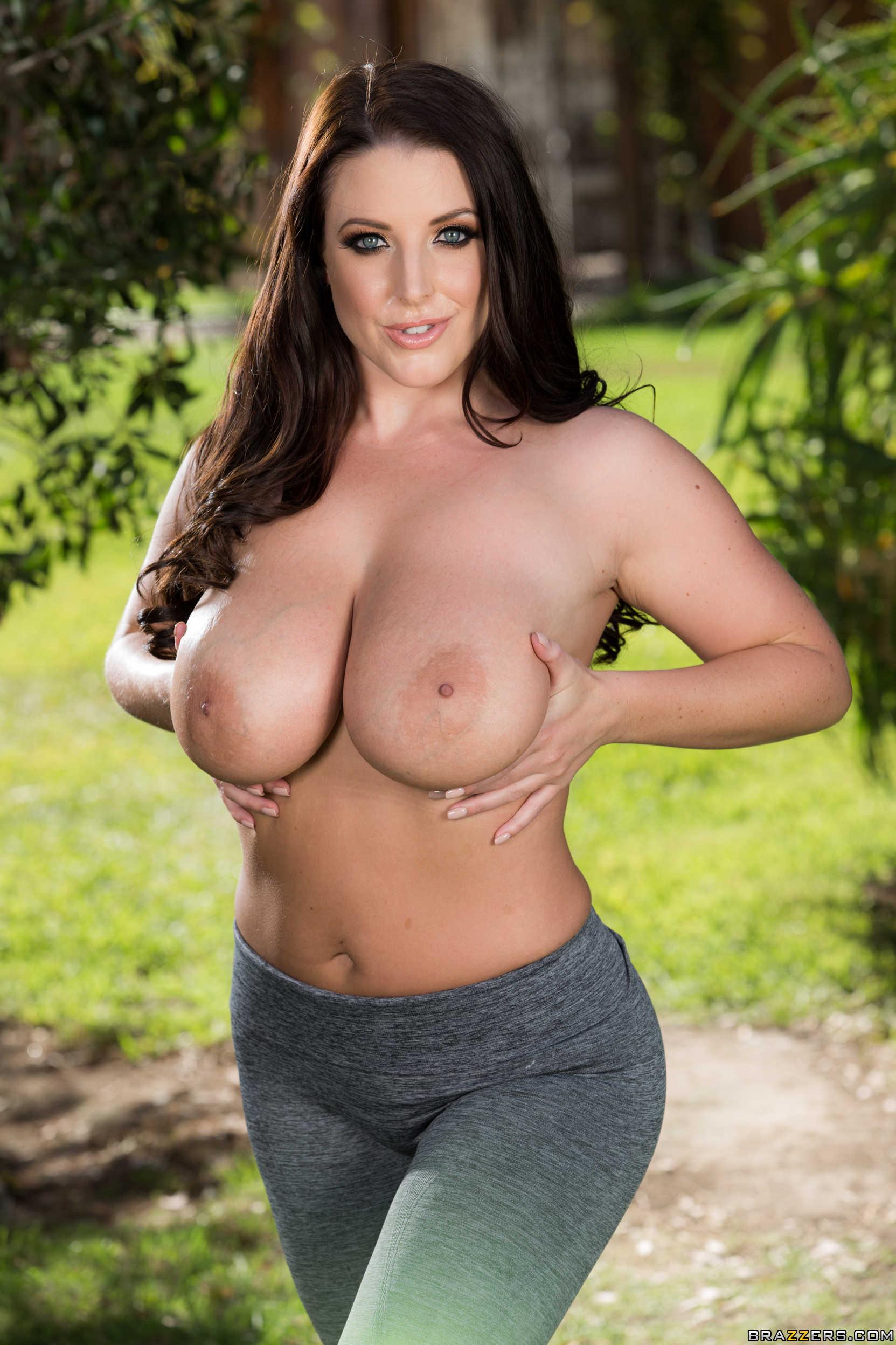 Bridgette nude yoga right!
